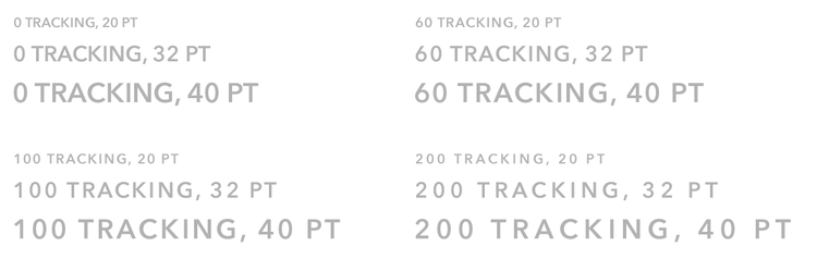 what tracking looks like